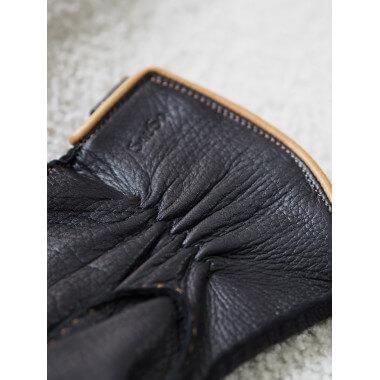 KIM Deer Cashmere blend BLACK/CORK