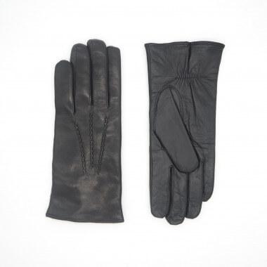 ASSERI Kosketusnäyttökäsine Lambnappa BLACK Cashmere blend