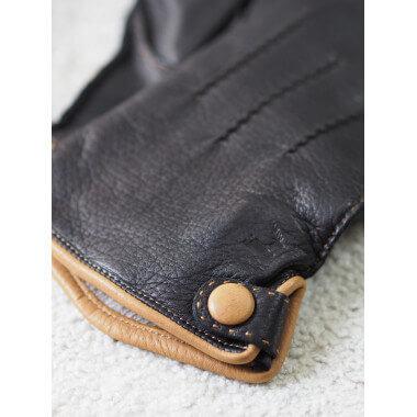 KIM Deer 100%Wool BLACK/CORK