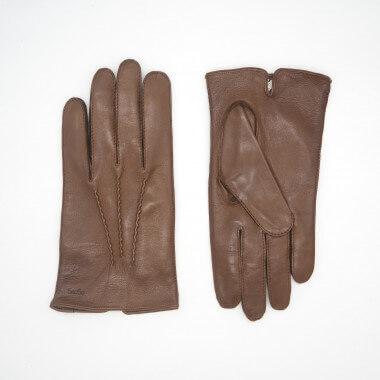 OSMO Lambnappa 100% Silk SADDLE BROWN