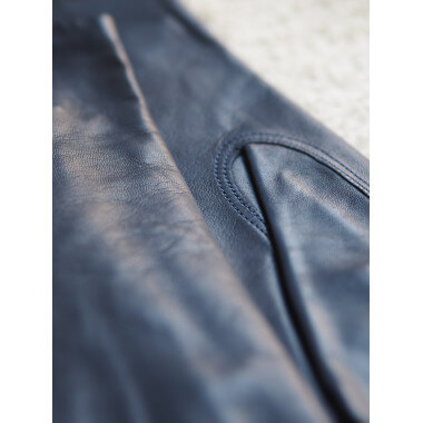 LAHJA Lambnappa DARK BLUE 100% Silk