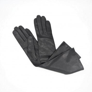 """Lempi 8"""" Lambnappa BLACK 100% Silk"""