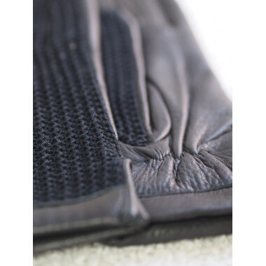 EDIT Deer/cotton knit BLACK Cashmere blend