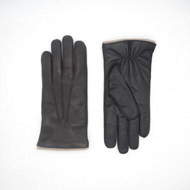 JAAKKO Kosketusnäyttökäsine Lambnappa 100% Wool BLACK