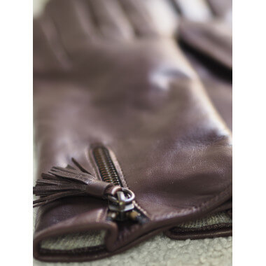 Anniina Lambnappa DARK BROWN Wool