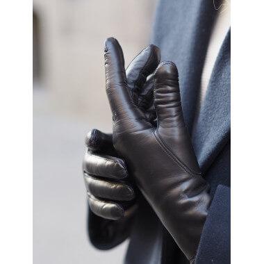 MIMOSA Lyhytsorminen Lambnappa BLACK Cashmere blend