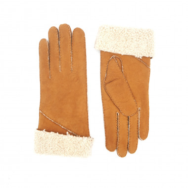 AMALIA Lamb shearling NATURAL Curly