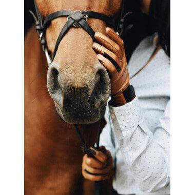 VAULA Ratsastuskäsineet Lambnappa CAMEL Unlined