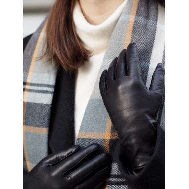 MARTTA Lambnappa BLACK 100 % Wool