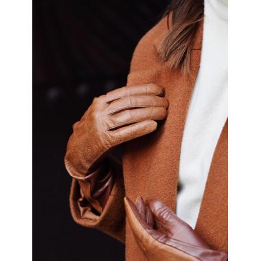 SIGNE Lambnappa COGNAC 100% Silk