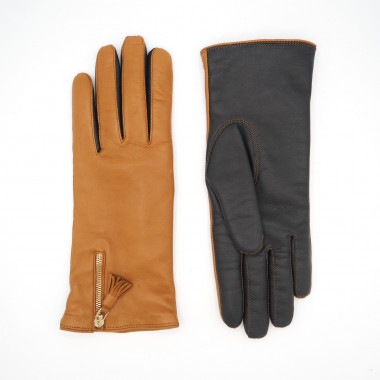 ANNIINA TS Lambnappa CORK/BLACK 100% Wool