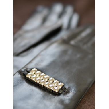 RAGNI Lambnappa BLACK/SILVER 100% Wool