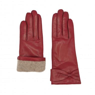 EILA Lambnappa DEEP RED Cashmere blend