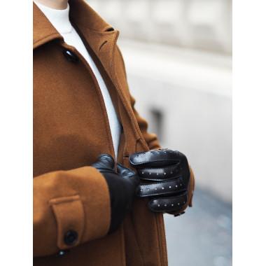 TIITUS Kosketusnäyttökäsine Lambnappa Wool BLACK