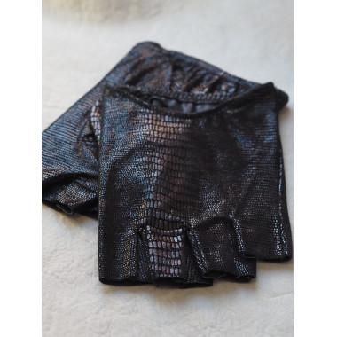 RASMUS Lambnappa BLACK Snake print