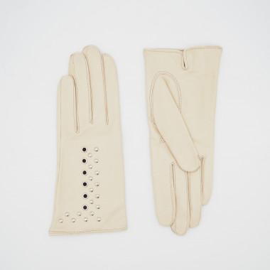 SIMONE Lambnappa BEIGE/SILVER 100% Silk