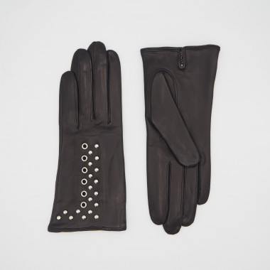 SIMONE Lambnappa BLACK/SILVER 100% Silk