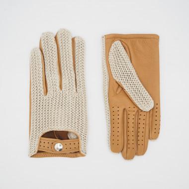 JARE Deer/Cotton Knit NATURAL/CORK