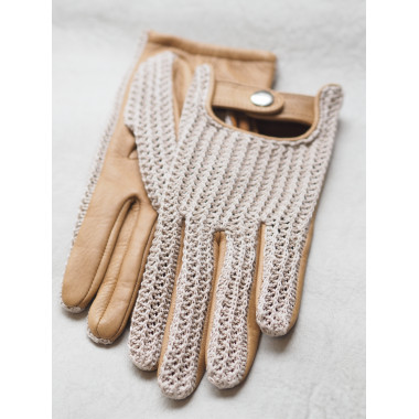 SOPHIE Deer/Cotton Knit NATURAL/CORK