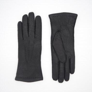 SAARA Peccary BLACK 100% Cashmere