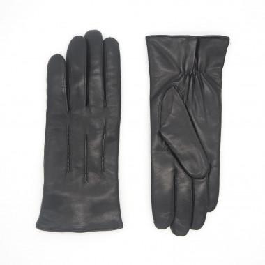 ARNO Pitkäsorminen Lambnappa BLACK 100% silk