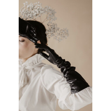 RUUT Lambnappa BLACK 100% Silk