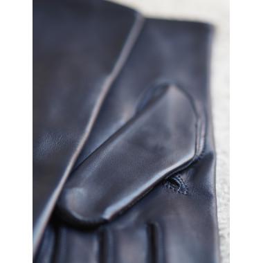 MIMOSA Lyhytsorminen Lambnappa 100% Silk NAVY