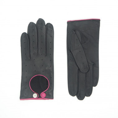 PIPSA Lambnappa BLACK/PINK Unlined