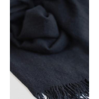 CARA 100% Cashmere Scarf BLACK