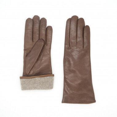 MIMOSA Lambnappa SADDLE BROWN Cashmere blend