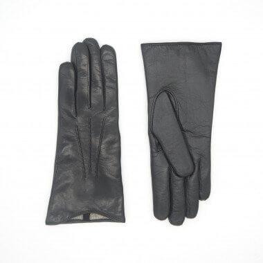 LIIA Kosketusnäyttökäsine Lambnappa BLACK 100% Wool